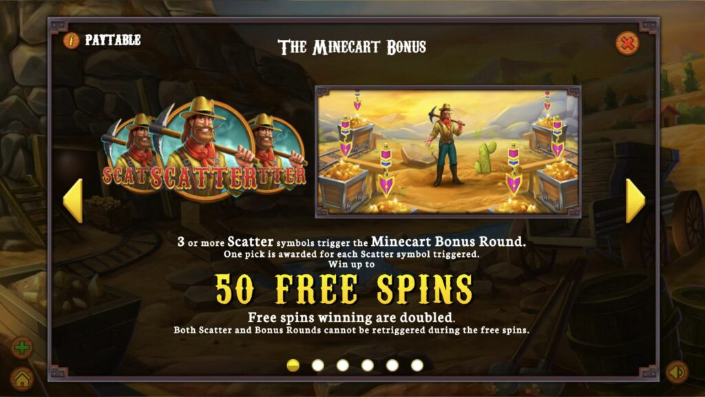 gold heist free spins feature