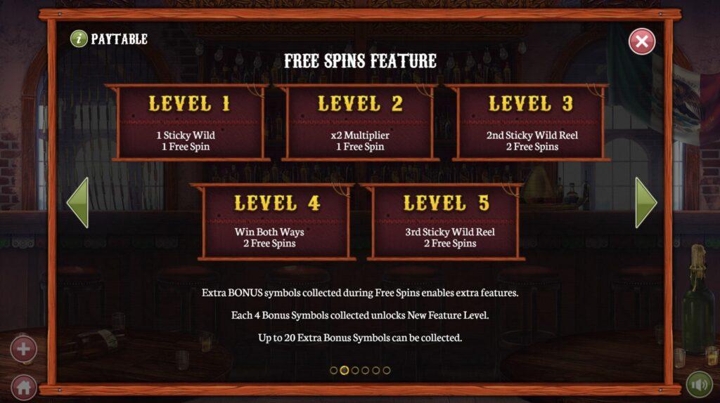 Level bonus El Mariachi