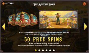 Gold Heist Free Spins Screenshot