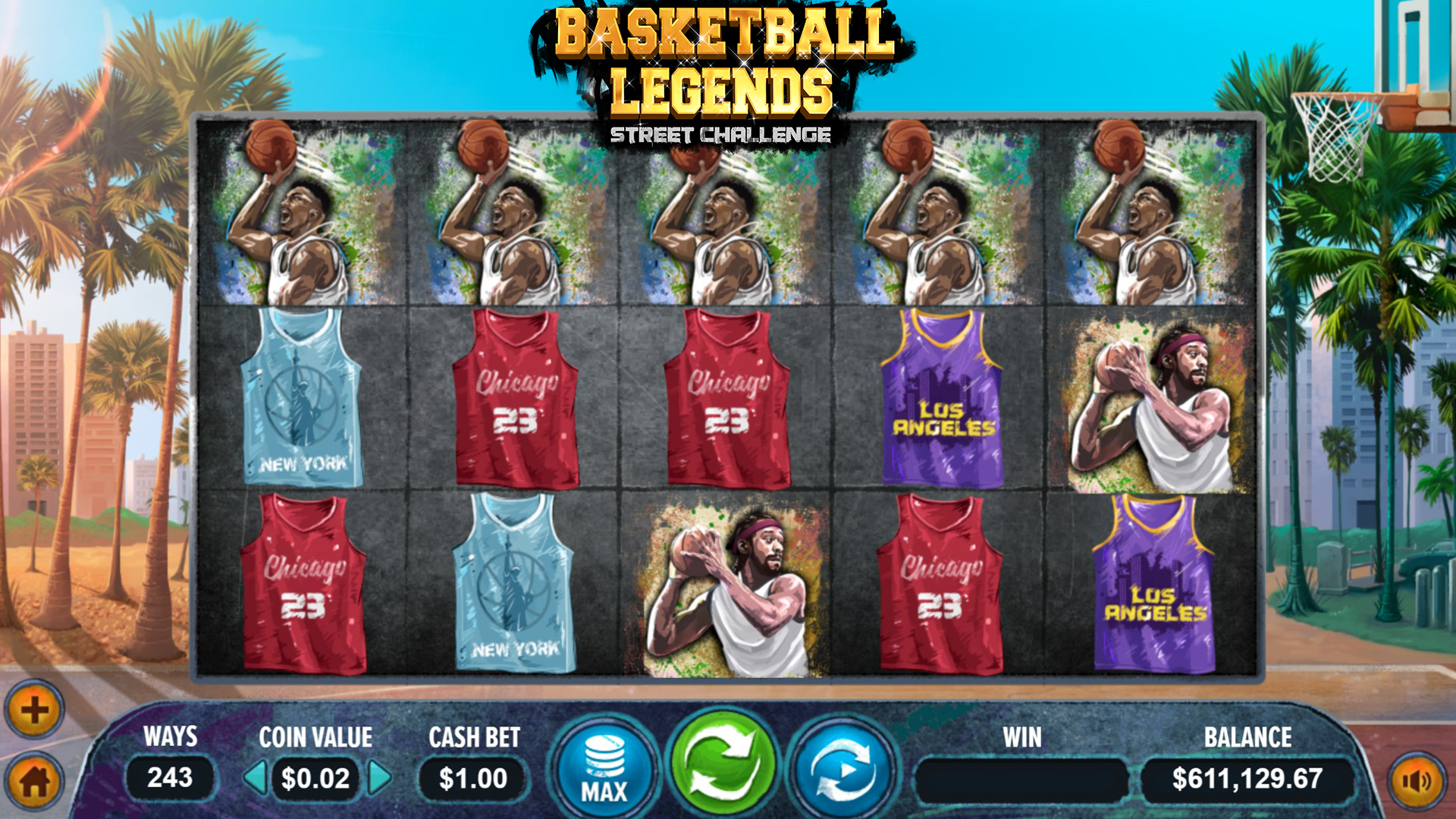 basketball legends screenshot
