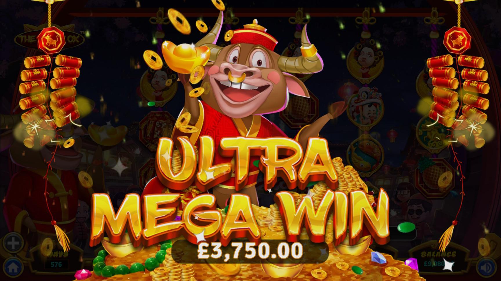 the ingot ox ultra mega win image