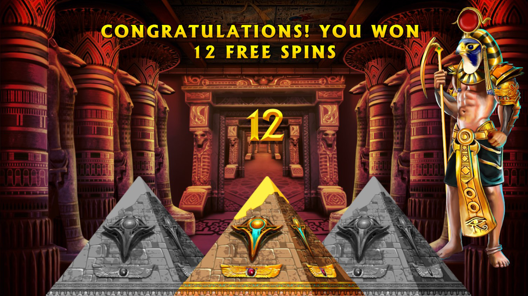 Legend of horus free spins