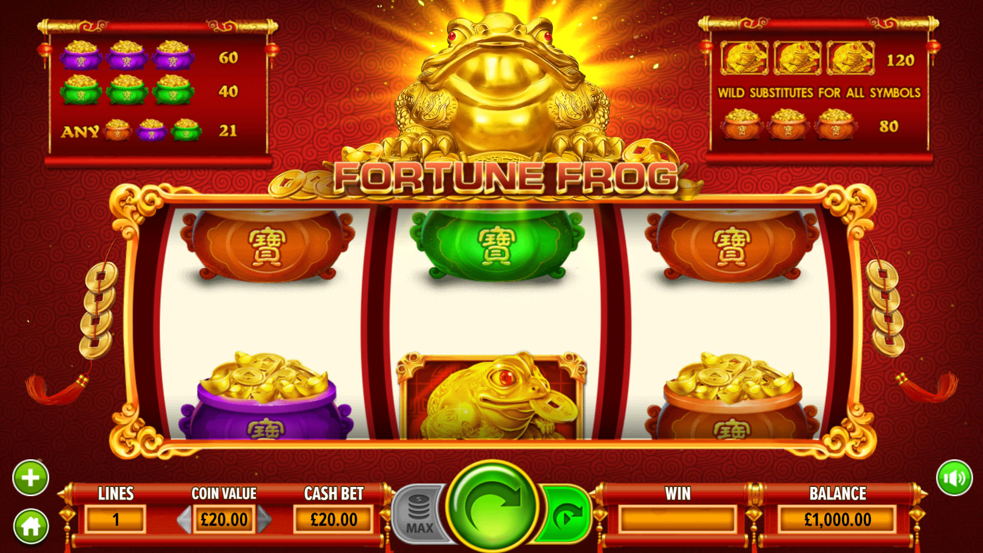 fortune frog game image
